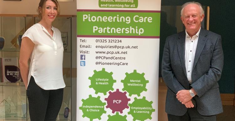 Image of Natasha Judge, Healthwatch Stockton and Brian Knevitt, PCP