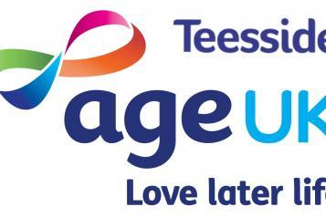 Graphic of Age UK Teesside logo