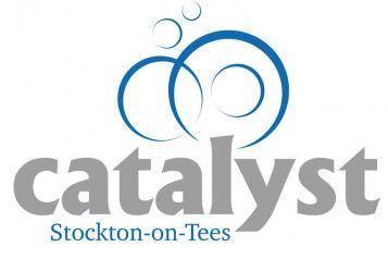 Graphic of Catalyst Stockton logo