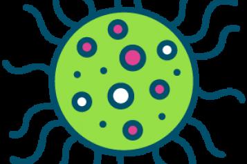 Graphic of coronavirus