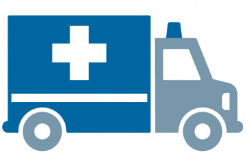 Graphic of ambulance