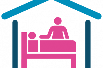 Graphic of care home