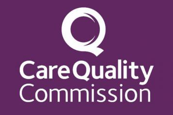Graphic of Care Quality Commission logo