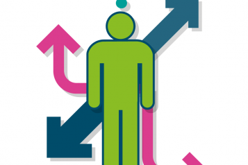 Graphic of signposting