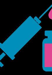 Graphic of vaccine